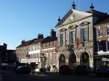 Bryanston, Market Place Blandford Forum Dorset © Chris Downer